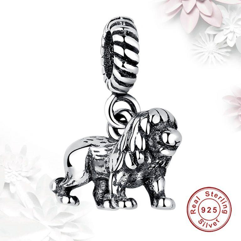 Charm Silver Lion din Argint