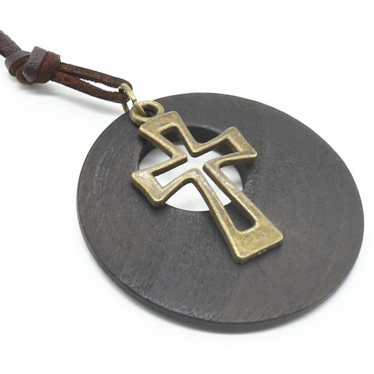 Colier Vintage Irish Cross