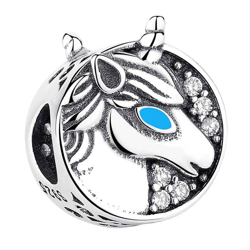 Charm Little Unicorn din Argint
